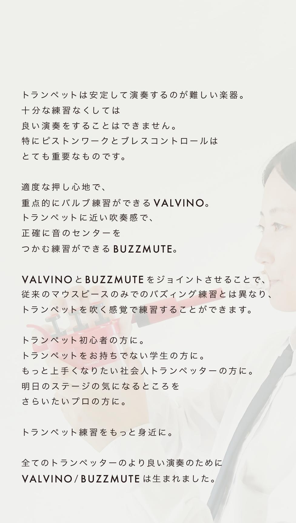 VALVINOコンセプト